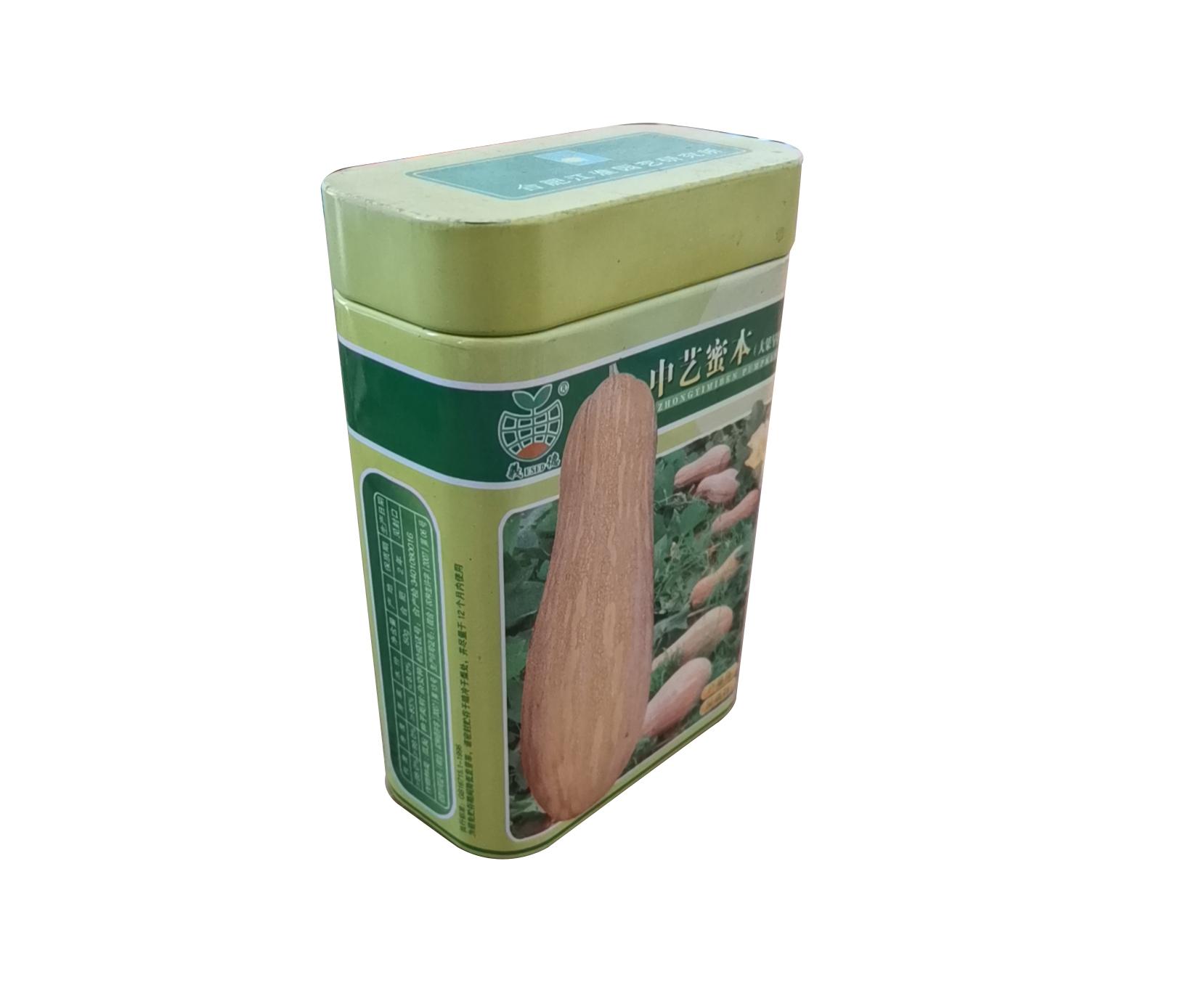 南瓜种子铁罐