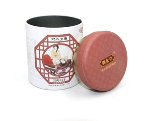 圆形千赢娱乐ø100*130mm 茶叶 冲剂包装千赢娱乐