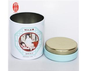 圆形75*70 茶叶/保健品包装 高档礼品包装盒