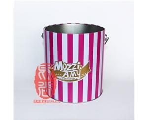 马口铁爆米花桶 158*180mm 经典食品包装桶