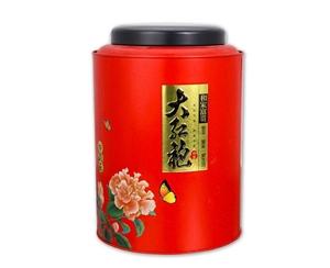 茶叶圆形铁罐